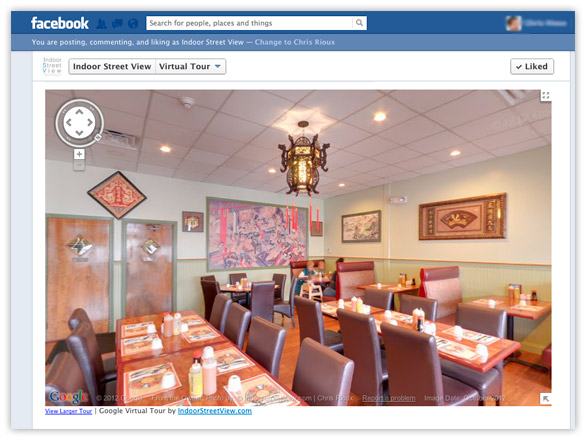 Embed Facebook Google virtual tour-Step 6