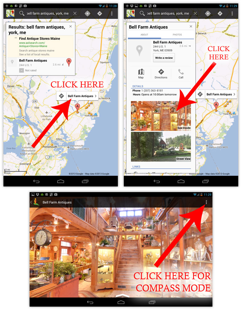 Google Indoor Street View Virtual Tour Android Tutorial