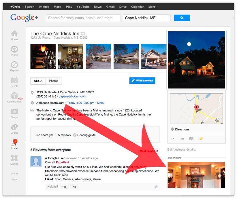 Google Plus Bussiness Listing